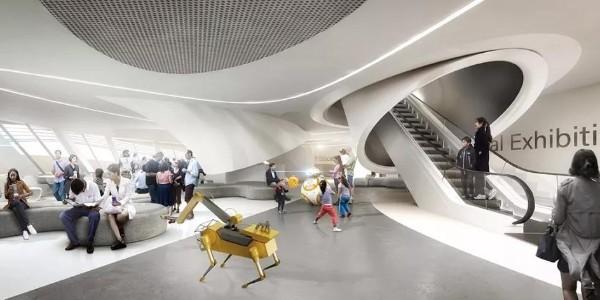 世界上第一个由机器人建造的科学博物馆