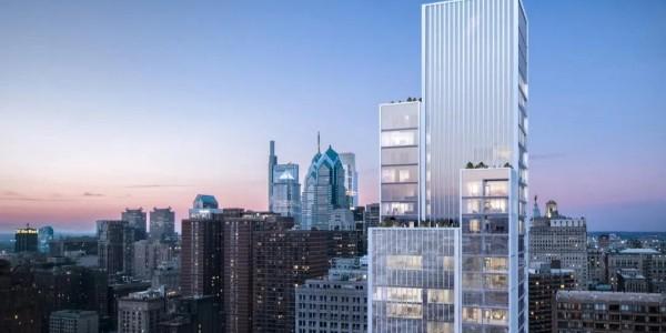KPF在费城的第一座住宅大楼Arthaus封顶!