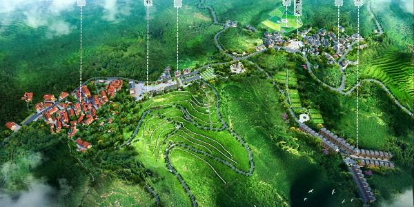 《大方县猫场镇箐口村规划提升带重点区域修建性详细规划》