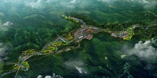 贵州省优秀城乡规划设计专题《都匀市墨冲镇镇区控制性详细规划》