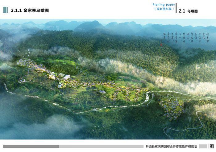 黔西县花溪田园综合体规划