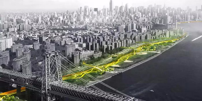 """既是景观又能防洪,BIG给曼哈顿添了一个""""U"""""""