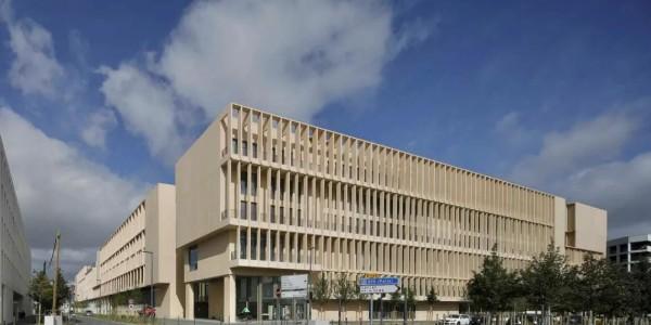 Grafton Architects 新作:巴黎高校园区,五院连三校
