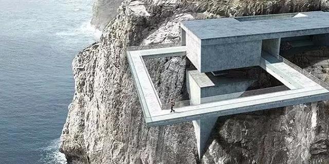 把家安在悬崖边