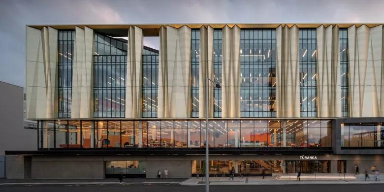城市文化的弹性容器-新西兰抗震图书馆