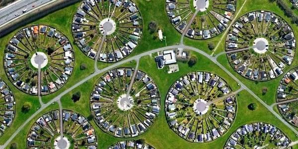 """神奇的都市农场""""Colony Gardens""""丹麦版十六合院"""