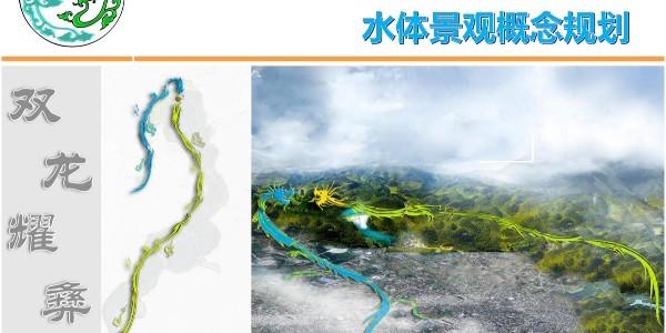 贵州省优秀城乡规划设计作品《大方县城古城片区水体景观概念规划》