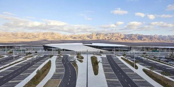 白色未来主义机场诞生荒漠之中 | 以色列建筑师真是设计界的一股清流