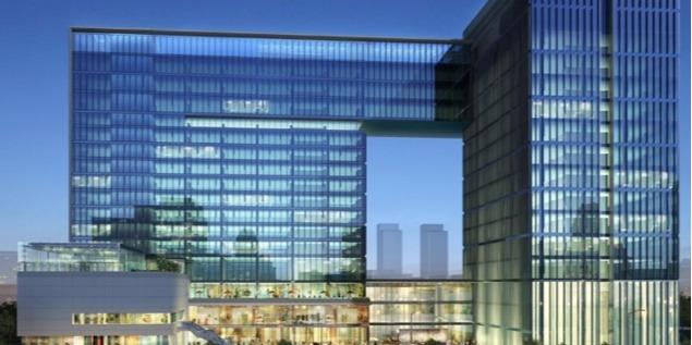 贵阳东景五星级酒店及办公楼综合体项目