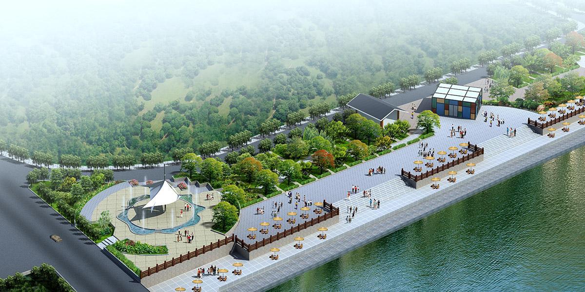 施秉县滨河景观规划设计