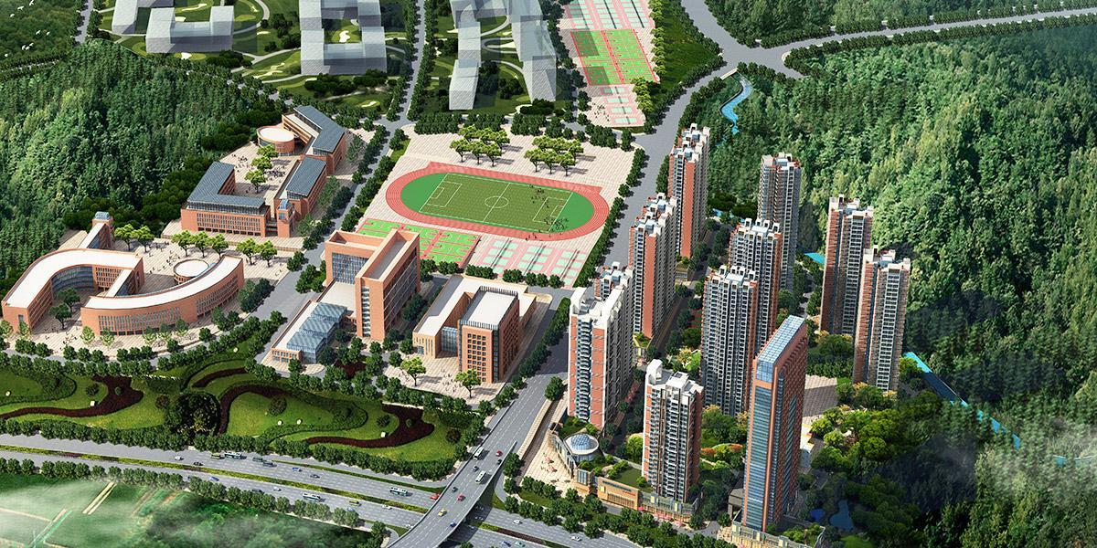 贵州大学扩建二期安置房建筑设计
