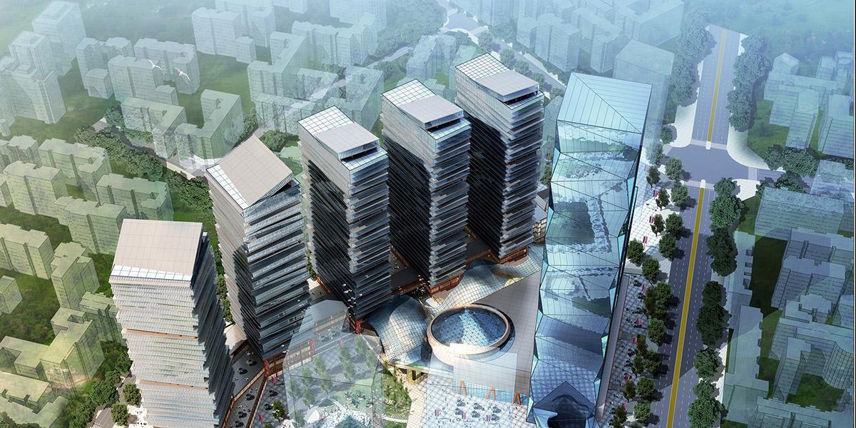 上河坎街片区旧城改造规划设计