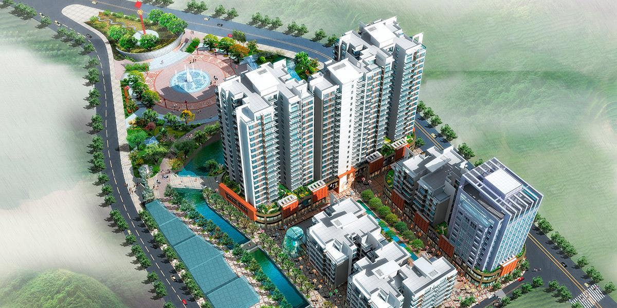 长顺县星筑园小区建筑设计