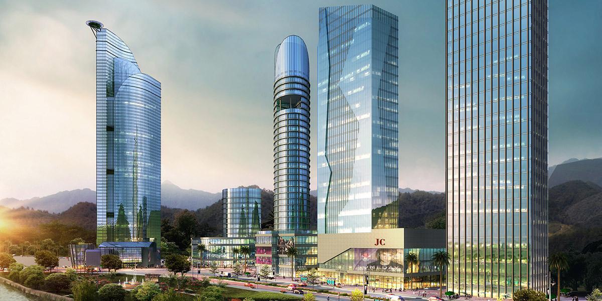 织金县金南路城市景观规划设计