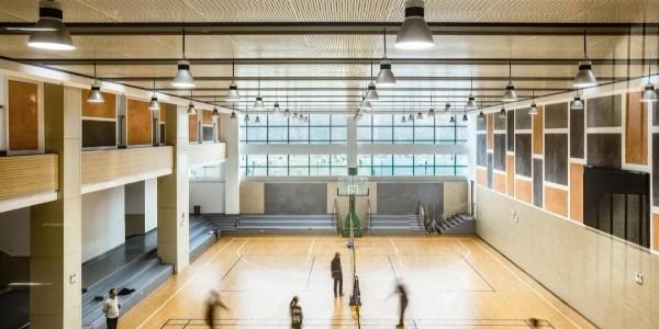 三个院落式中学设计——扬中市外国语中学分部