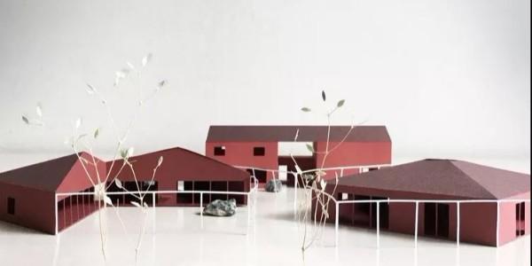 精致的建筑模型