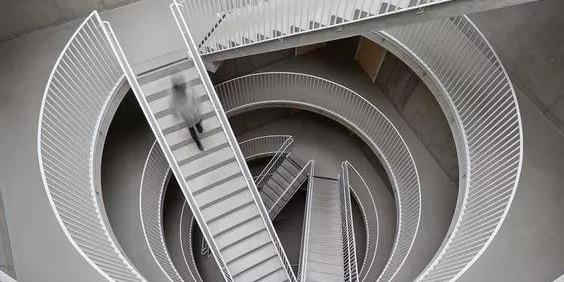 原来建筑楼梯可以这么设计